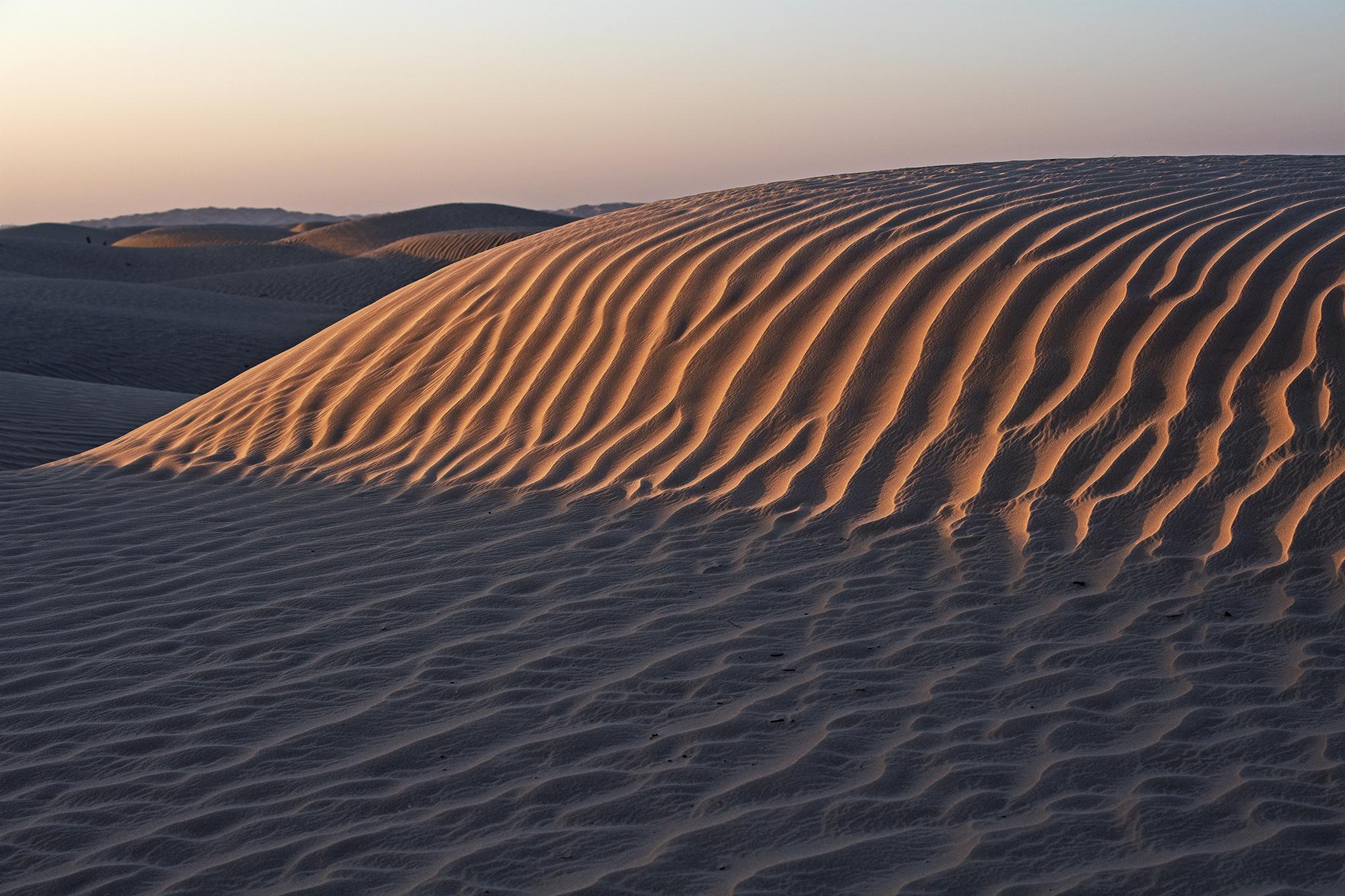 Sandformation in der Rub al Khali, Oman