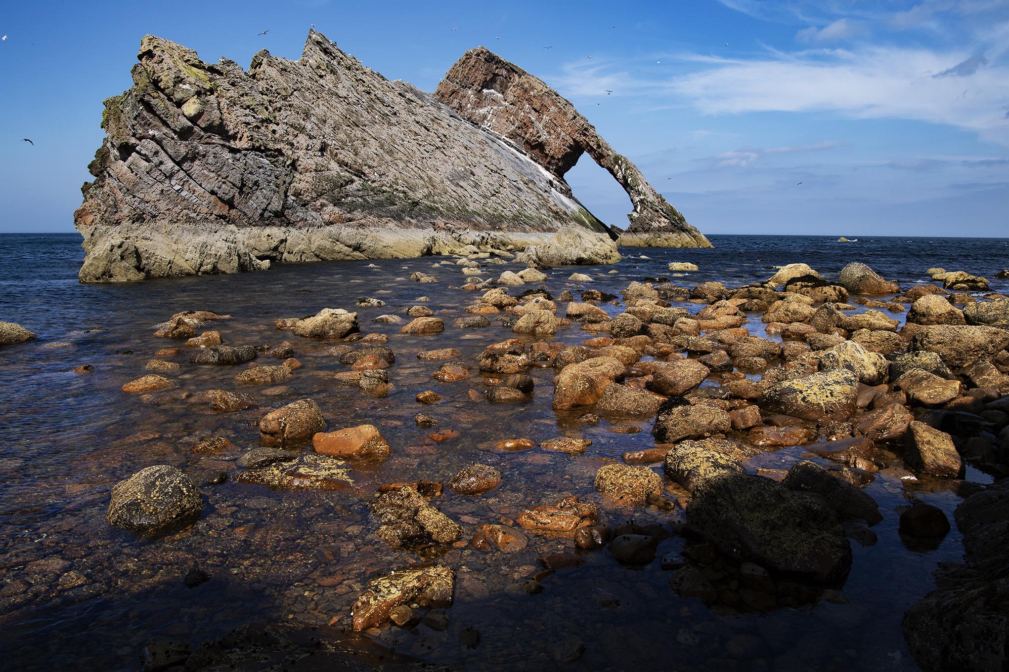 Fiddle Rock, Schottland