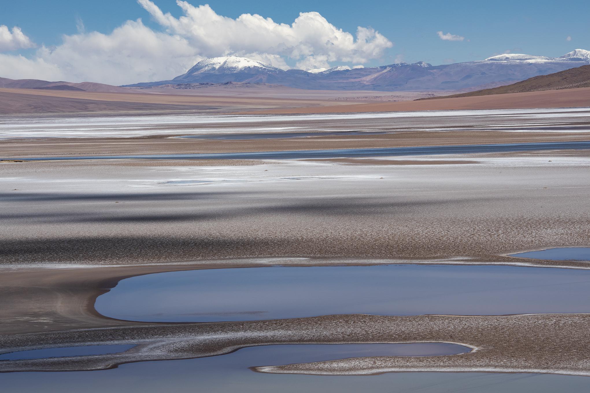 Lagune in den chilenischen Anden